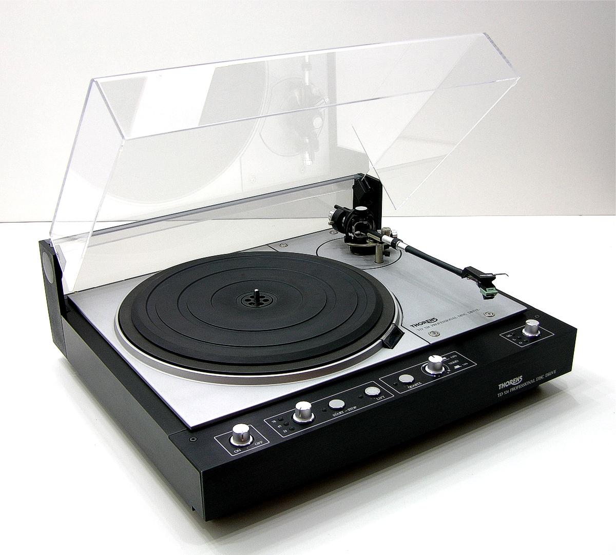 thorens td524 studioplattenspieler mit emt laufwerk ebay. Black Bedroom Furniture Sets. Home Design Ideas