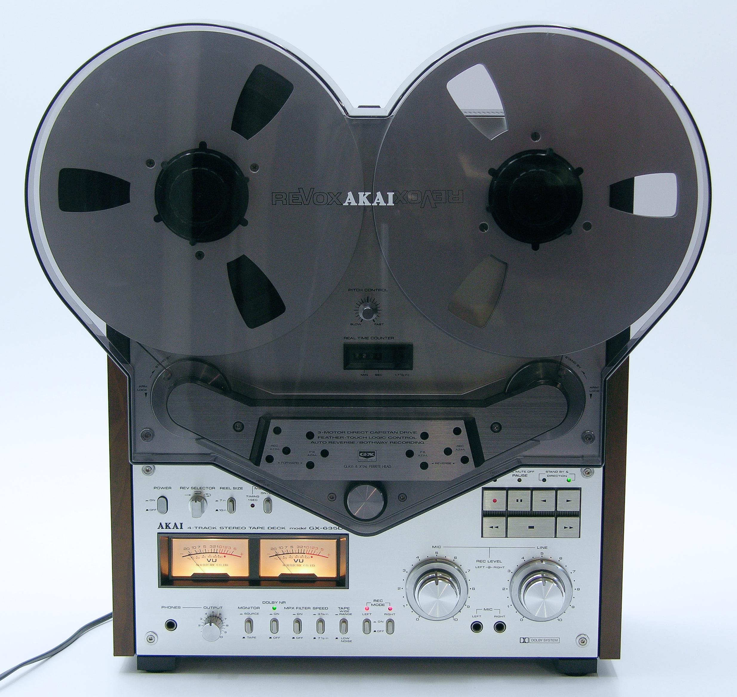 AKAI GX-635DB 4-track vintage reel to reel recorder... | eBay
