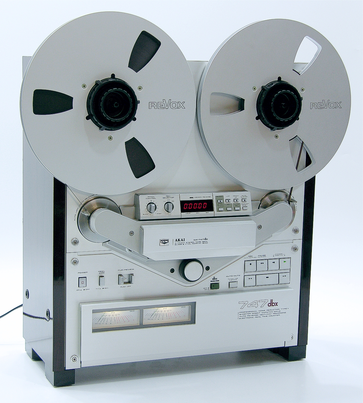 Details about Akai GX-747dbx taperecorder - serial no. 90180-15332